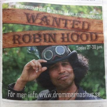 Wanted Robin Hood i Sydsvenskan