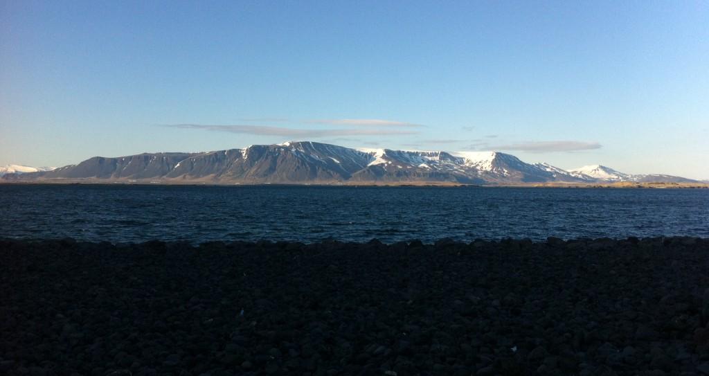 Harbor in Reykjavik