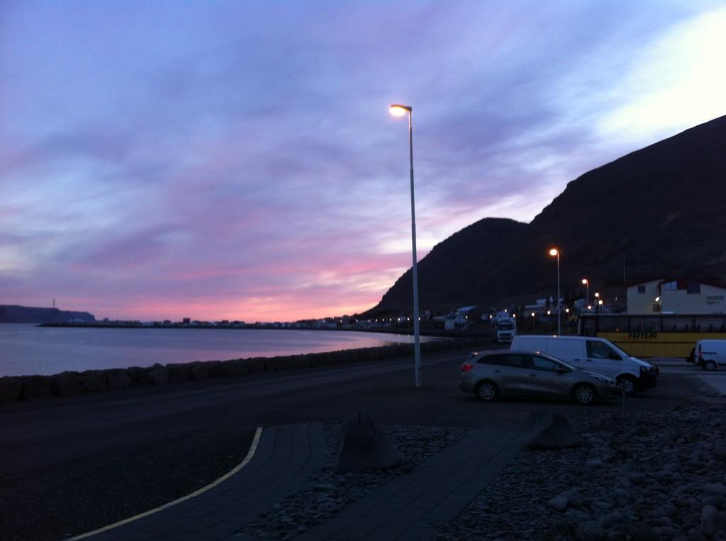Patreksfjörður by night